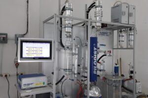 Laboratorio de destilación SILM